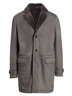 3385b3255 Leather Jackets & Shearling Coats For Men | Saks.com
