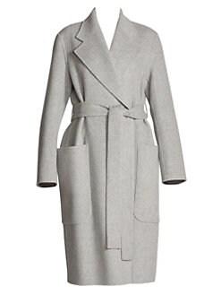 9663f06cb64832 Acne Studios. Carice Wool   Cashmere Wrap Coat