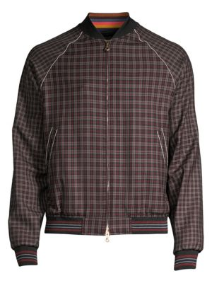 f1cd9570e Paul Smith - Reversible Quilted Bomber Jacket - saks.com