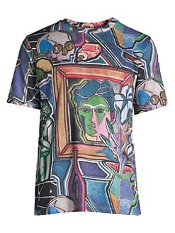 3f87ef446a4 Paul Smith. Artist Studio Allover Print T-Shirt
