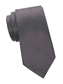506527a430f9 QUICK VIEW. Ermenegildo Zegna. Canelle Print Silk Tie