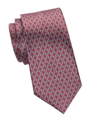 Ermenegildo Zegna Ties Digital Silk Tie