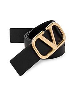 e700ce7ef9ef9 QUICK VIEW. Valentino Garavani. Logo Buckle Leather Belt