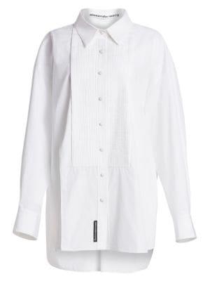 e0dd0835ab9 XL Cotton Tuxedo Shirt