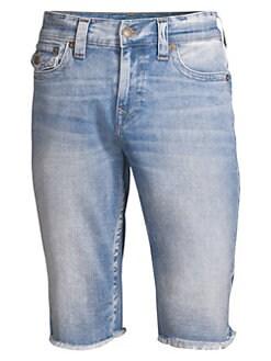 735ee3e434 QUICK VIEW. True Religion. Ricky Frayed Cuff Jean Shorts