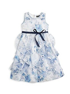 4941b186fb61 Special Occasion Shop. Marchesa Notte Mini - Little Girl's & Girl's Grace  Embroidered Tulle Dress