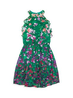 d609ae348 Marchesa Notte Mini. Girl s Riley Sleeveless Printed Dress