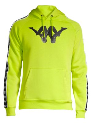 b7399aa1dc Authentic Baccello Graphic Hoodie in Lime Green