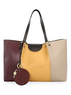 b6003e510680 QUICK VIEW. See by Chloé. Marty Colorblock Leather Tote