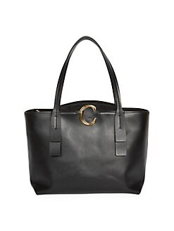 7cff31ba6f08 QUICK VIEW. Chloé. C Leather Tote Bag