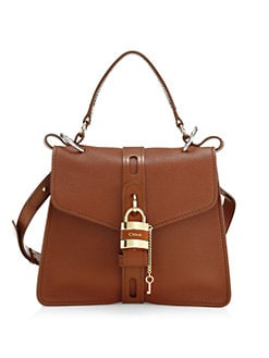 c6854e7aa8276c QUICK VIEW. Chloé. Medium Aby Leather Top Handle Bag