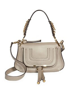 2a69356345e QUICK VIEW. Chloé. Small Marcie Leather Saddle Bag