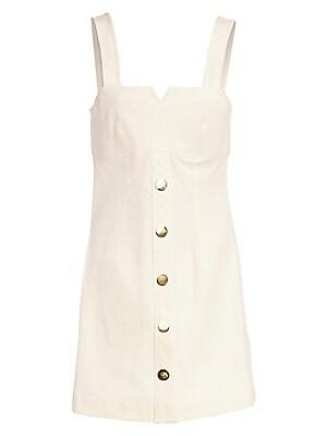 Stretch Cotton Camisole Dress by Derek Lam 10 Crosby