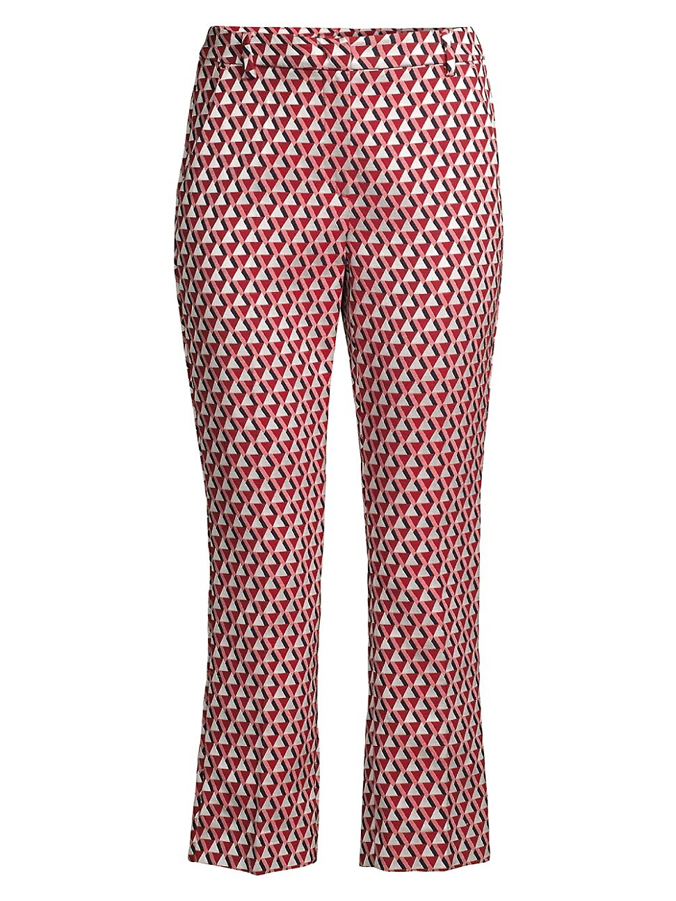 WEEKEND MAX MARA WOMEN'S CAPALE GEOMETRIC STRAIGHT-LEG PANTS