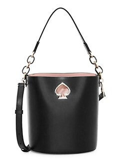 9796ae0ab336 QUICK VIEW. Kate Spade New York. Small Suzy Leather Bucket Bag