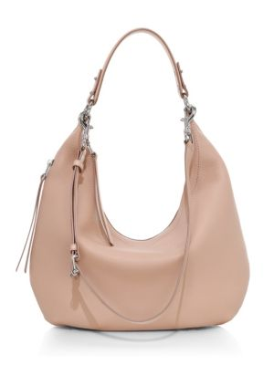 Personalized Front Anchors /& Waves Hobo Purse w//Genuine Leather Trim