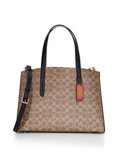 ebda88e5c9 COACH. Signautre Coated Canvas Crossbody Bag