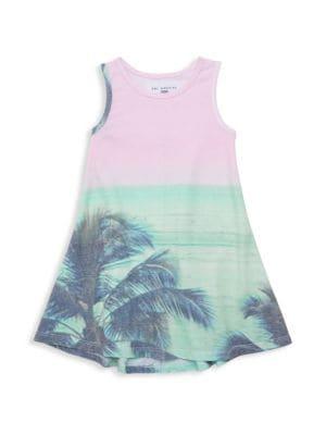Sol Angeles Little Girl S Girl S Cabana Print Tank Dress