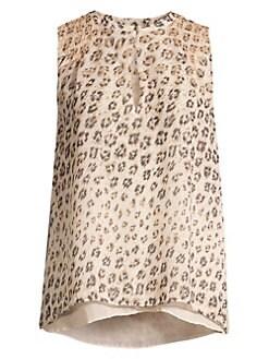 d716e9412db Joie - Corie Leopard Sleeveless Top