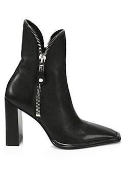 4ff39549bc83 Alexander Wang. Lane Grain Leather Boots