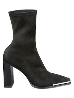939618e0818cc Product image. QUICK VIEW. Alexander Wang. Mascha Stretch Suede Ankle Boots