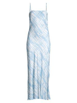 Staud Dresses July Printed Midi Dress