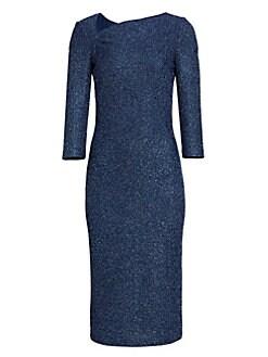 ece44147de5 St. John. Sequin Knit Sheath Dress