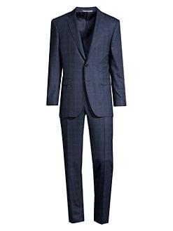 63d02518b97151 Canali. Modern-Fit Skarksin Wool Suit
