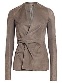 ba1fd1e82 Rick Owens   Women's Apparel - Coats & Jackets - saks.com