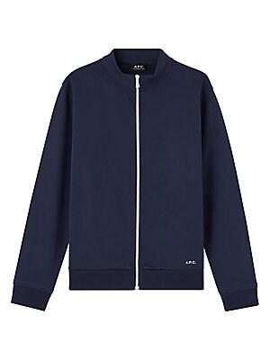Jim Cotton Zip Sweatshirt by A.P.C.