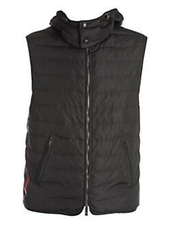 65a28d816706d Valentino. Logo Puffer Vest