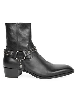 5b5f6212ead QUICK VIEW. Saint Laurent. Wyatt Studded Leather Boots