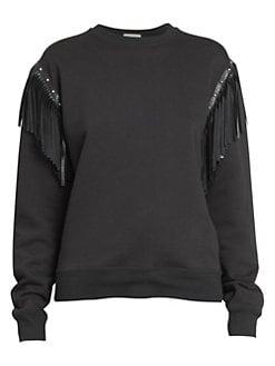29fc5b6b9bd Women s Apparel - Sweatshirts - saks.com