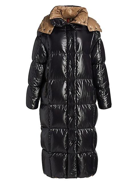 Parnaiba Long Nylon Puffer Coat