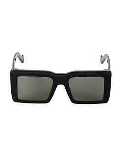 57f67993aa0 QUICK VIEW. Loewe. 53MM Oversized Square Sunglasses