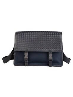 24be47eb65d Bottega Veneta. Tech Canvas Messenger Bag
