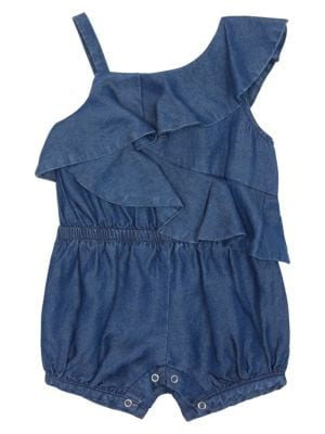 Habitual Girl Little Girl S Antonelle One Shoulder Romper