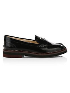 0bf58e40b27 Tod s. Light Rubber Sole Loafers