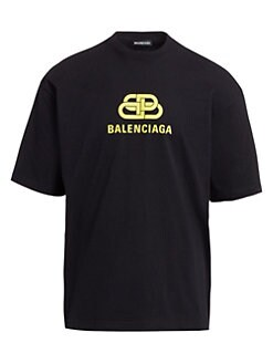 e3546101 Balenciaga - New BB Logo T-Shirt