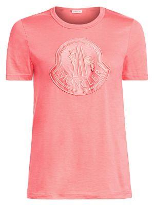Moncler Logo Cotton Tee