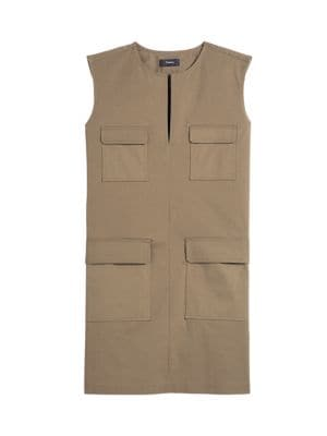 Theory Utilitarian Sleeveless Dress
