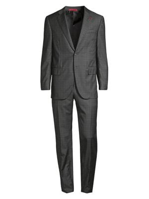 Isaia Abito Classic Fit Wool Suit