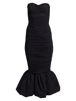 d0b923085e6bd QUICK VIEW. Chiara Boni La Petite Robe. Birdie Ruched Strapless Mermaid  Dress