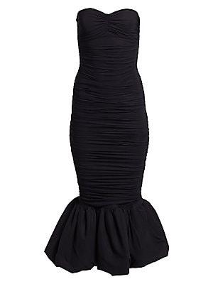 b3b48fdcc47 Chiara Boni La Petite Robe - Birdie Ruched Strapless Mermaid Dress -  saks.com