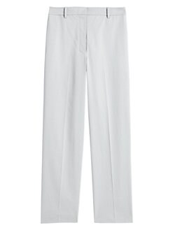 484917b835ce QUICK VIEW. Theory. High-Waist Straight Crop Trousers