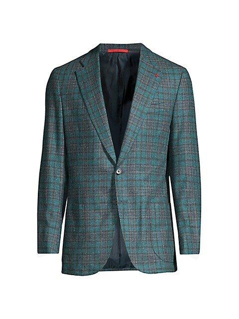 Fancy Donegal Plaid Sportcoat
