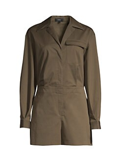6edf67f9458 Product image. QUICK VIEW. Theory. Utility Shirt Romper