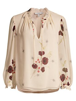a3870ab2e83b21 Product image. QUICK VIEW. Joie. Rafaella Floral Silk Blouse