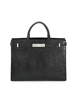 2605b473cfdf Saint Laurent. Manhattan Leather Saddle Bag