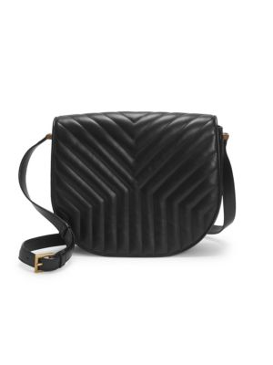 Saint Laurent Joan Matelasse Leather Crossbody Bag